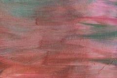 Abstrakter künstlerischer strukturierter handgemalter Hintergrund auf Segeltuch Stockfotografie