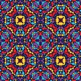 Abstrakter kaleidoskopischer Hintergrund Lizenzfreies Stockbild