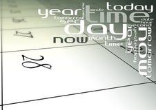 Abstrakter Kalender Lizenzfreie Abbildung