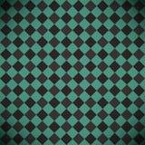 Abstrakter karierter grüner Hintergrund stock abbildung