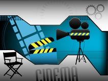 Abstrakter Kinohintergrund Stockbild