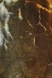 Abstrakter konkreter Stein, natürliche Abnutzung, Rost, Korrosion Lizenzfreies Stockbild