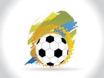 Abstrakter kreativer Fußballhintergrund Lizenzfreies Stockbild