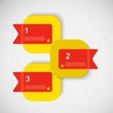 Abstrakter kreativer quadratischer Kasten des Vektors Farb Lizenzfreies Stockbild