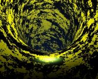 Abstrakter kreativer techno Tunnel Stockbild