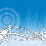 Abstrakter Kreis-Hintergrund Stockfotos