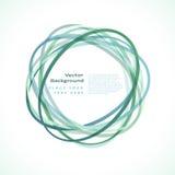 Abstrakter Kreis-Rahmen Lizenzfreies Stockbild