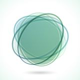 Abstrakter Kreis-Rahmen Stockfotografie