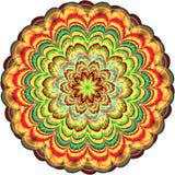 Abstrakter Kreis Raster 4 4 Lizenzfreies Stockbild