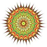 Abstrakter Kreis Raster 5 5 Stockfotografie