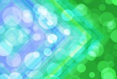 Abstrakter Kreisbokeh Hintergrund Stockbild
