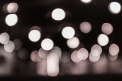 Abstrakter Kreisbokeh Hintergrund Stockfotografie