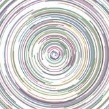 Abstrakter Kreishintergrund von den Halbkreisen Lizenzfreie Stockfotos