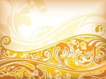 Abstrakter Kurven-Hintergrund Stockfotos