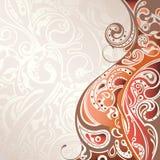 Abstrakter Kurven-Hintergrund Lizenzfreie Stockbilder