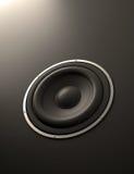 Abstrakter Lautsprecher lizenzfreie abbildung