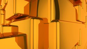 Abstrakter lebhafter Hintergrund Browns stock video