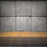 Abstrakter leerer industrieller Innenraum Lizenzfreie Stockfotografie