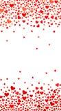 Abstrakter Liebeshintergrund für Ihr Valentinsgruß-Tagesgruß-Kartendesign lizenzfreie abbildung