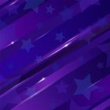 Abstrakter linearer Hintergrund mit Sternen für Design Stock Abbildung