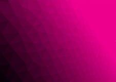 Abstrakter magentaroter polygonaler Hintergrund Stockfotos