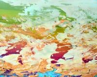 Abstrakter Malerei-Hintergrund Stockfotografie