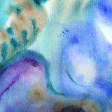 Abstrakter Malereikunsthintergrund in der Illustrationsraumgeometrie Lizenzfreies Stockbild