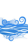 Abstrakter Marinehintergrund lizenzfreie abbildung