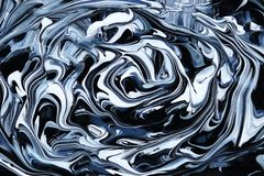 Abstrakter Marmorfarbenhintergrund Acrylbeschaffenheit Stockfotografie