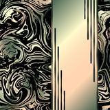Abstrakter Marmorierunghintergrund Modische Marmorschablone lizenzfreie abbildung