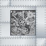 Abstrakter Mechanismus-Hintergrund
