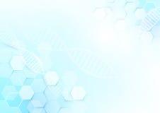 Abstrakter Medizin- und Wissenschaftskonzepthintergrund Lizenzfreie Stockbilder