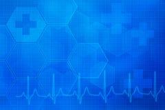 Abstrakter medizinischer Hintergrund Stockfotos