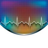 Abstrakter medizinischer Hintergrund Lizenzfreies Stockbild