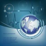 Abstrakter medizinischer Hintergrund Lizenzfreie Stockfotos