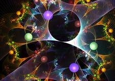 Abstrakter Mehrfarbenhintergrund Stockbilder