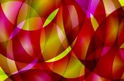 Abstrakter mehrfarbiger schattierter gewellter Hintergrund, Tapete, Illustration vektor abbildung
