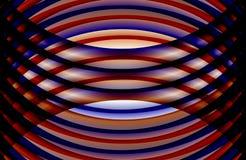 Abstrakter mehrfarbiger schattierter gewellter Hintergrund, Tapete, Illustration stock abbildung