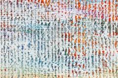 Abstrakter mehrfarbiger strukturierter handgemalter Acrylhintergrund Stockbilder