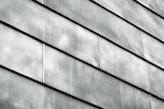 Abstrakter Metallbau als Hintergrundbeschaffenheit Stockbild
