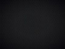 Abstrakter metallischer schwarzer Hintergrund Lizenzfreie Stockfotos