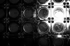 Abstrakter Metallkreis Stockbilder