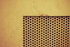 Abstrakter Metallkreis Lizenzfreies Stockfoto