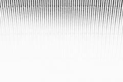 Abstrakter minimalistic weißer gestreifter Hintergrund mit vertikalen Linien und Titel Kopieren Sie Platz lizenzfreies stockbild