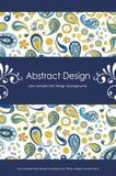 Abstrakter mit Blumenhintergrund 1-5 Stockbild