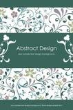 Abstrakter mit Blumenhintergrund 1-5 Stockfoto