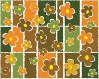 Abstrakter mit Blumenhintergrund Lizenzfreies Stockfoto