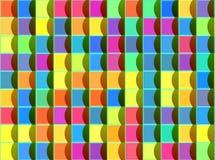 Abstrakter moderner geometrischer Wandhintergrund Stockfotos