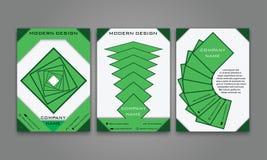 Abstrakter moderner Geschäfts-Flieger, Broschüre, Plakat, Jahresbericht, Titelseiten-Vektor-Schablone in der purpurroten, orange  Lizenzfreies Stockbild