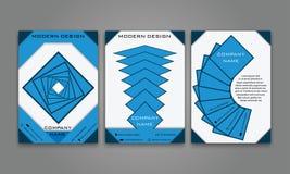 Abstrakter moderner Geschäfts-Flieger, Broschüre, Plakat, Jahresbericht, Titelseiten-Vektor-Schablone in der purpurroten, orange  Lizenzfreies Stockfoto